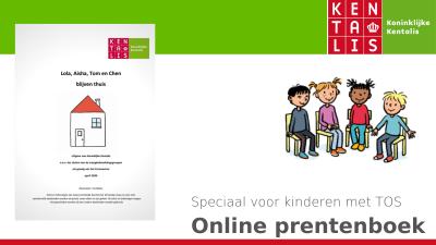 Online prentenboek over corona voor kinderen met TOS